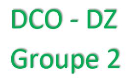 GROUPE 2 - FORMATION DCO/DZ - AGENT DU CHANGEMENT