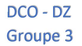 GROUPE 3 - FORMATION DCO/DZ - AGENT DU CHANGEMENT